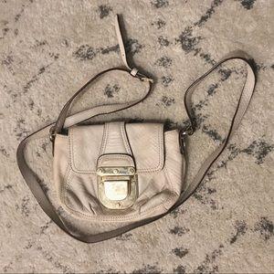 Crocodile-embossed Michael Kors mini bag